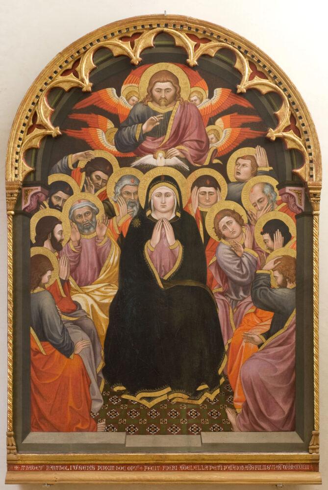 Taddeo di Bartolo, Pentecoste, 1403