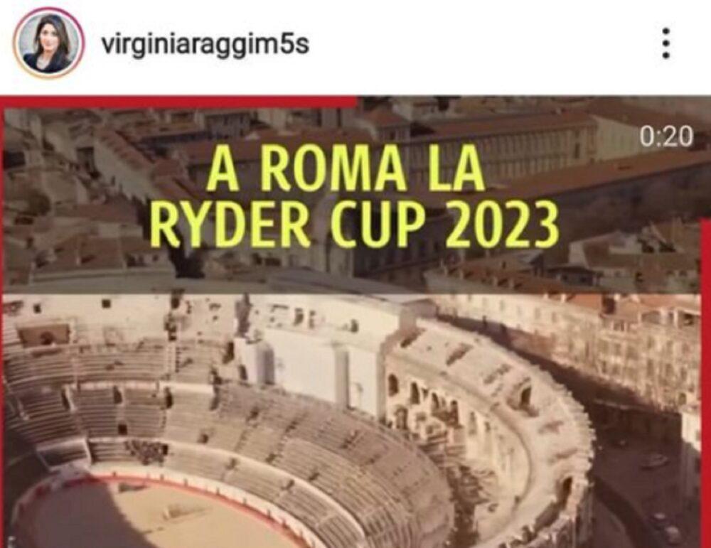 Raggi scambia colosseo per arena di Nimes su post facebook