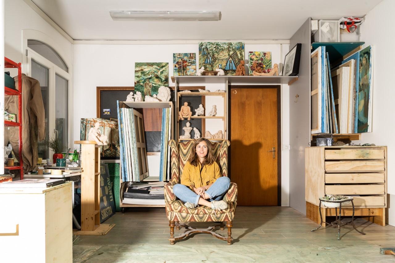 Dialogo con lo spazio e fiducia reciproca tra artista e soggetto. Sophie Westerlind per Residenza Lido La Fortuna