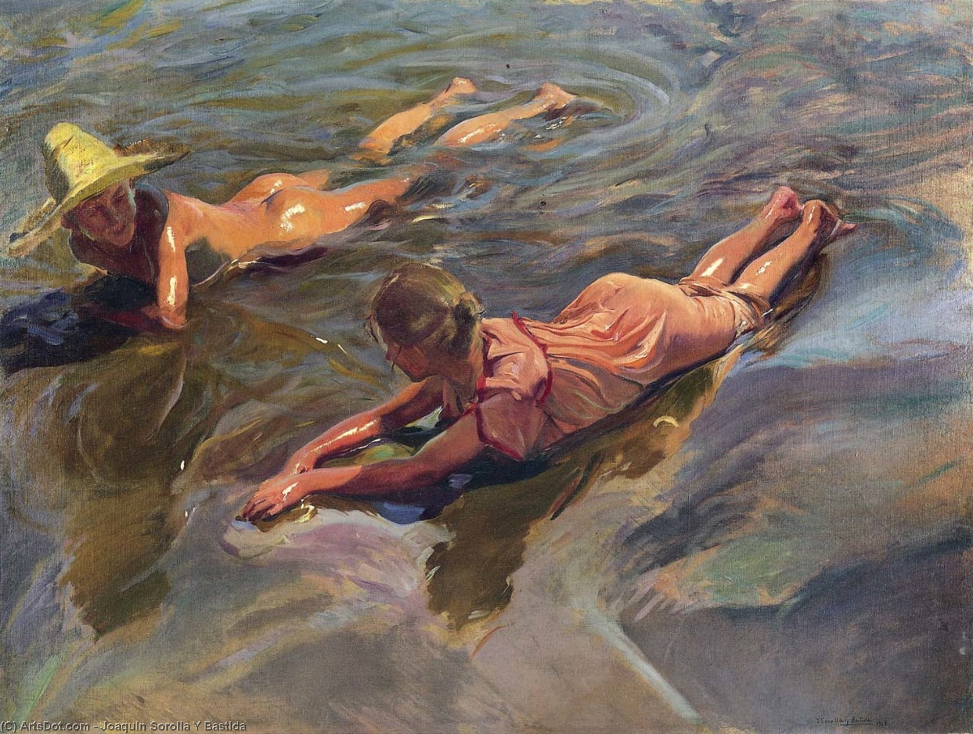 Dipingere il mare. La poesia dell'acqua nelle tele di Sorolla e Guccione, in Art Night su Rai5