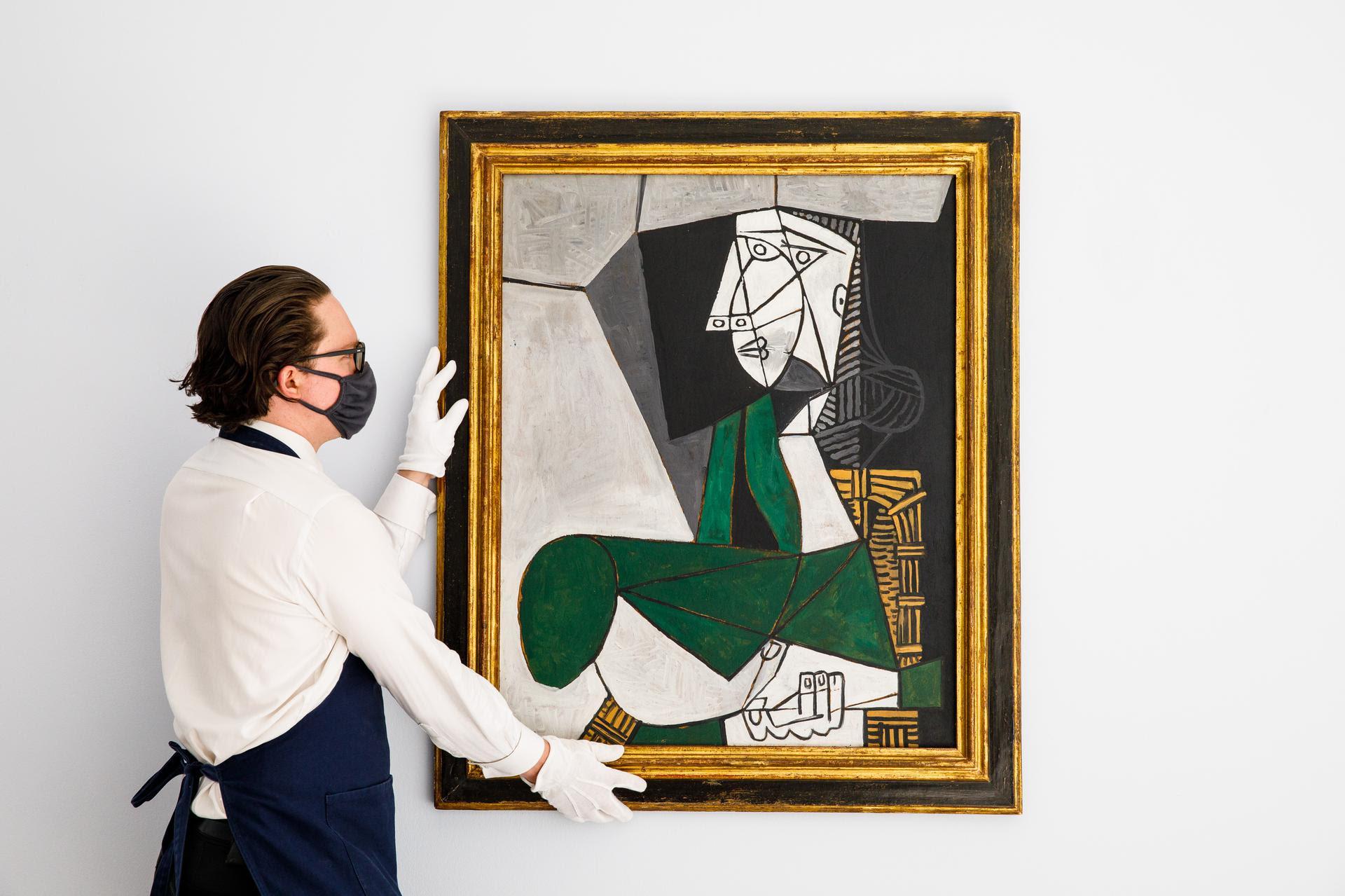 Dramma in grigio-verde. Un raro Picasso torna in asta da Sotheby's dopo 35 anni