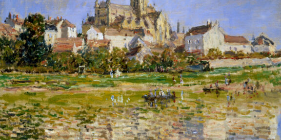 Claude Monet, La Chiesa di Vetheuil, 1880