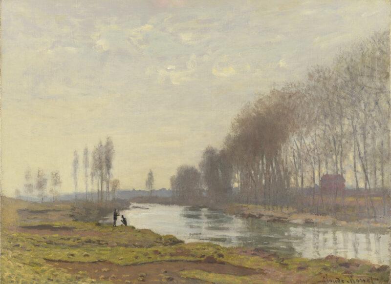 Il Petit Bras della Senna ad Argenteuil, Claude Monet