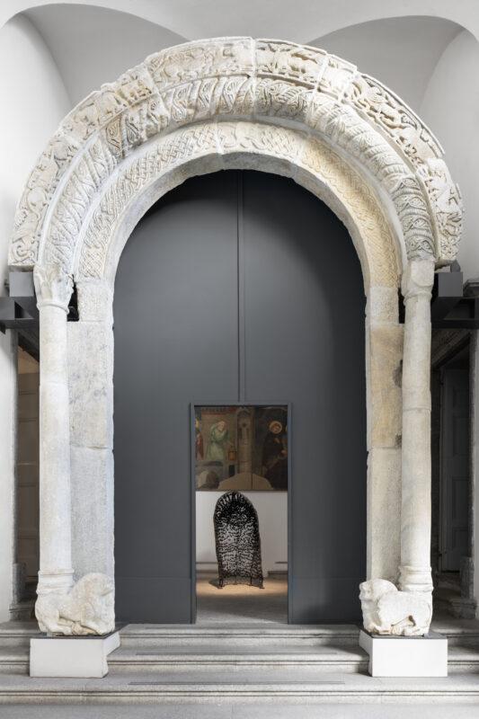 Giovanna Bolognini Il primo antro, 1996 Ferro cotto 164 x 75 x 120 cm