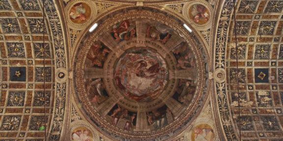 Piacenza, Chiesa di San Sisto, volta navata laterale