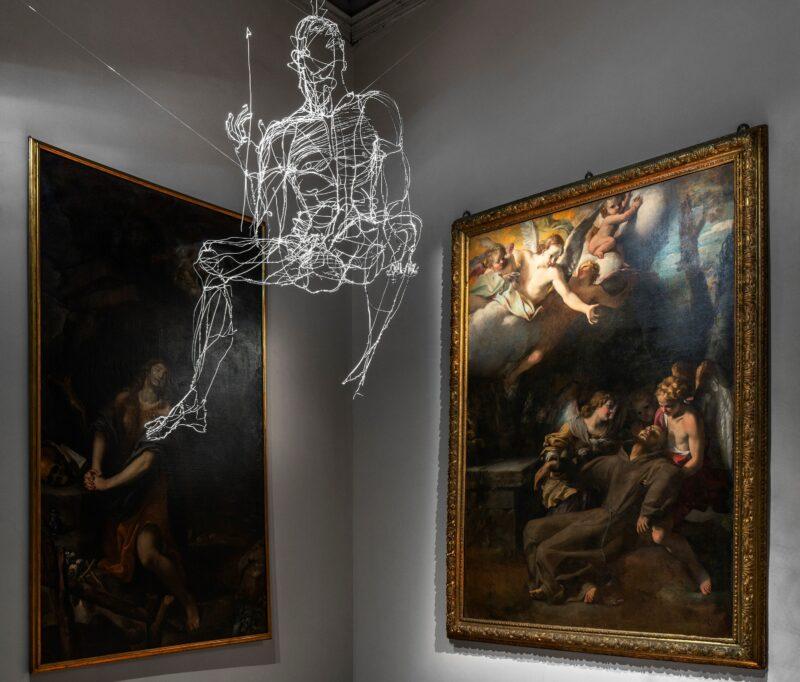 David Oliveira Angelo, 2012 Filo di ferro, 115x130 cm Collezione privata