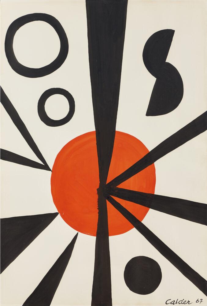 Alexander Calder O.O.S, acquistata a 72.500 euro