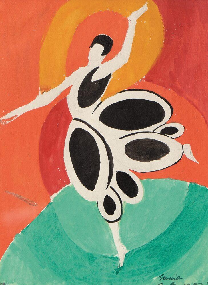 Sonia Delaunay, Costume pour Gaby. Venduto a 50.000 euro