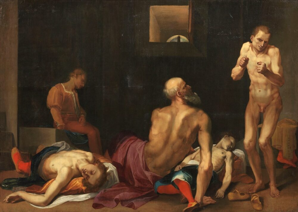 Donato Mascagni, Morte del Conte Ugolino. Stima € 40.000-50.000