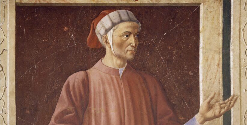 Andrea del Castagno, Dante (particolare), Uffizi