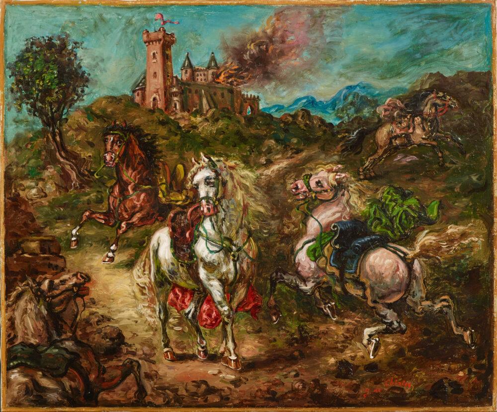 Giorgio de Chirico_lotto 33_Asta Arte Moderna del 22-6-2021