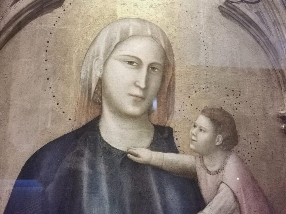 Giotto, Pilittico di Badia (particolare)