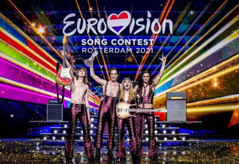 I Maneskin dopo la vittoria all'European Song Contest