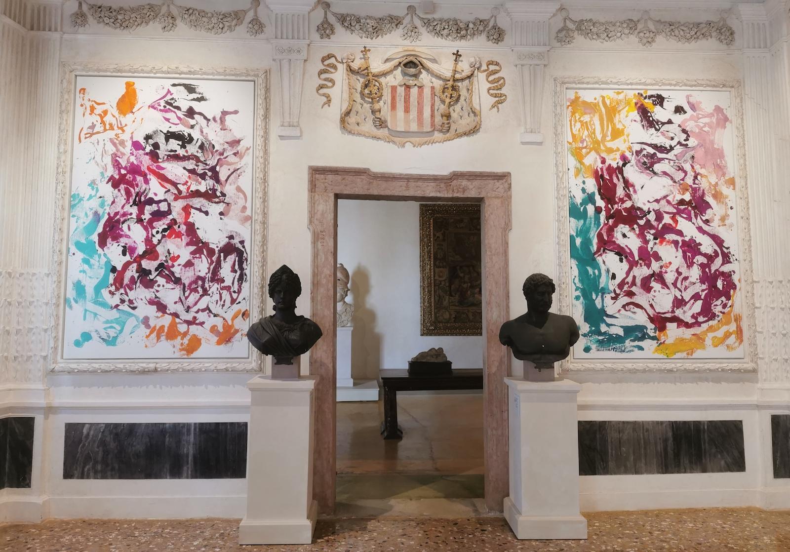 Da Venezia: Baselitz 1 / L'omaggio al Cardinale Archinto (e a Tiziano) al Museo di Palazzo Grimani