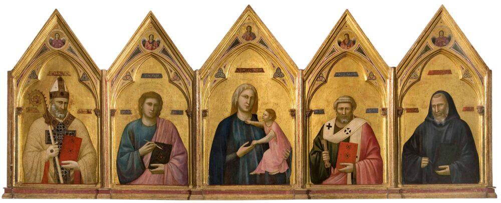 Il Polittico di Badia, di Giotto