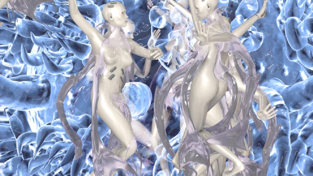 Intelligenza artificiale. Opera di Johanna Bruckner, Molecular Sex.