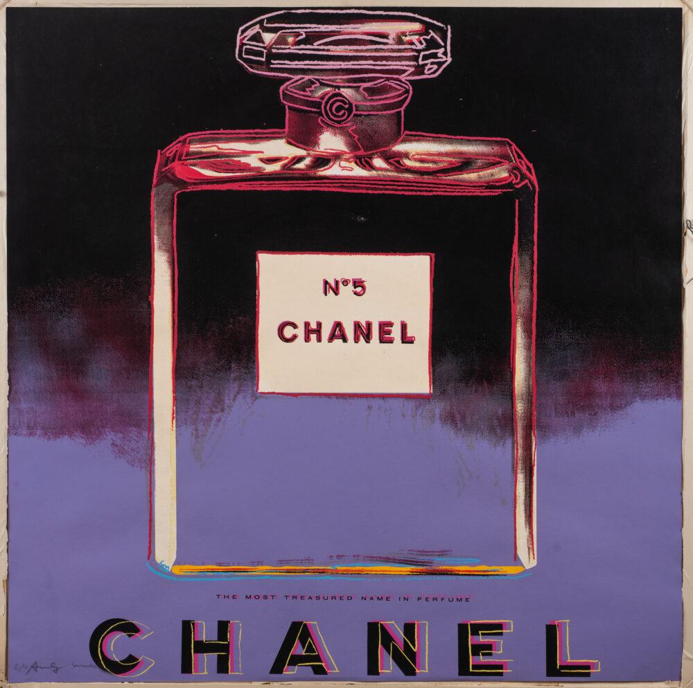 Andy Warhol, Chanel. Stima € 75.000-95.000