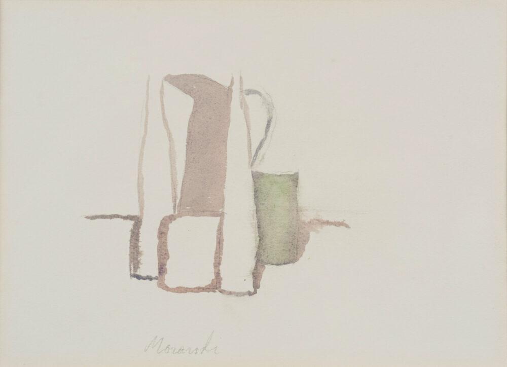 Giorgio Morandi, Natura morta. Stima € 70.000-90.000