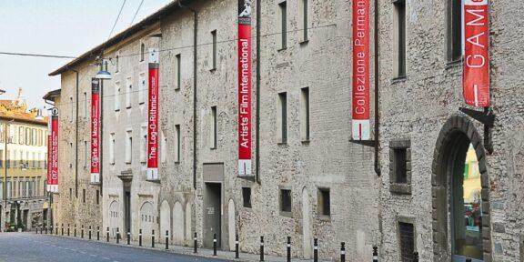 La GAMeC, a Bergamo