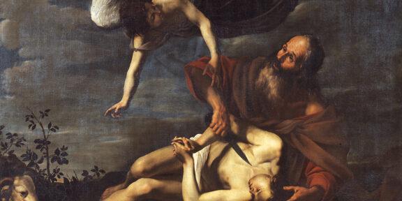 Orazio Riminaldi, Sacrificio d'Isacco. Roma, Gallerie Nazionali d'Arte Antica, Palazzo Barberini