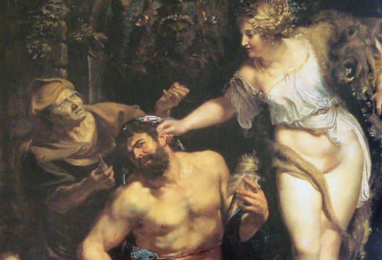 """Si prega di non toccare. Una rilettura sovversiva di """"Ercole e Onfale"""" di Rubens"""