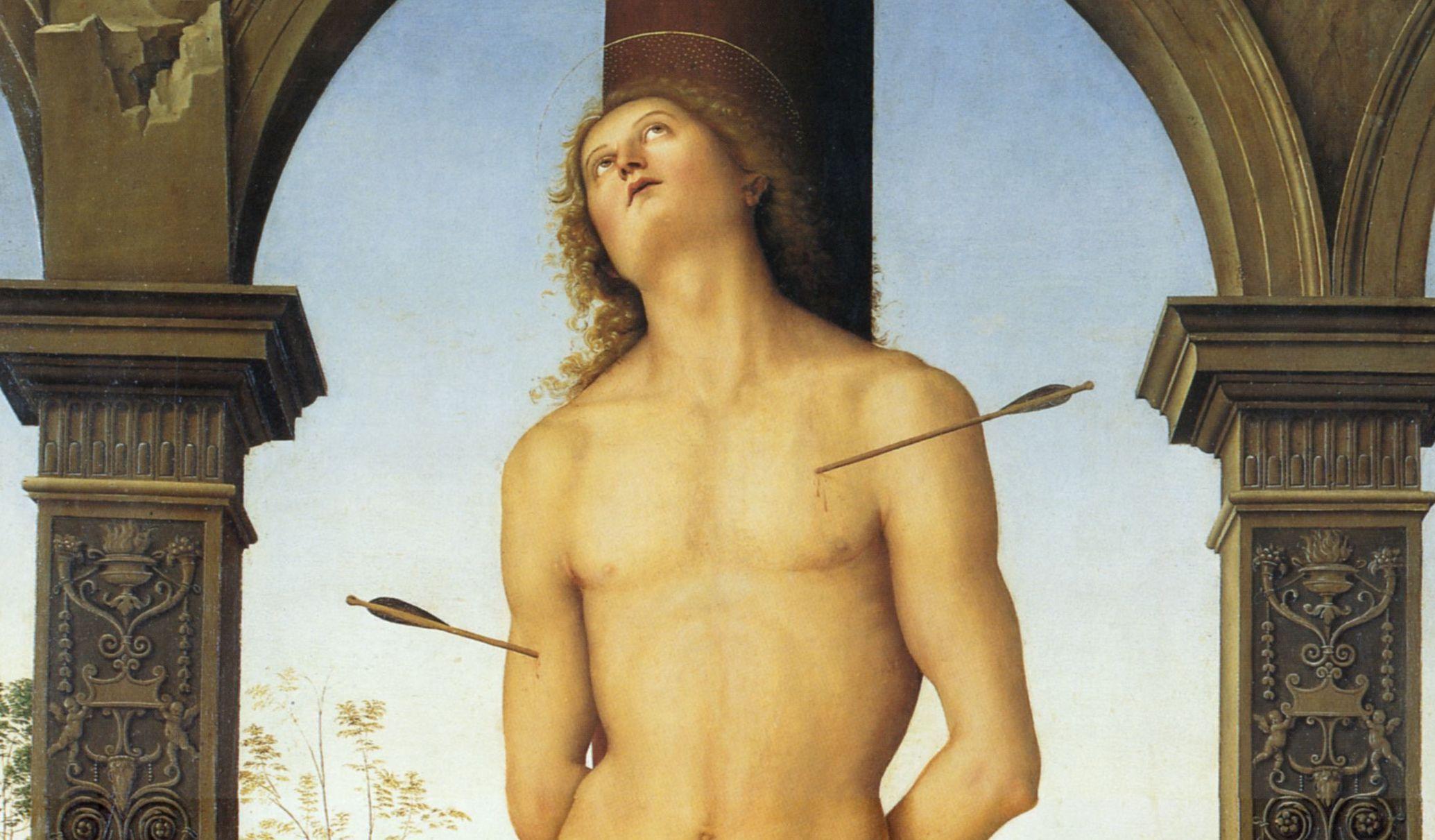 Si prega di non toccare. Una rilettura sovversiva del San Sebastiano di Perugino