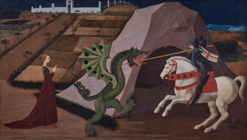 San Giorgio e il drago, di Paolo Uccello