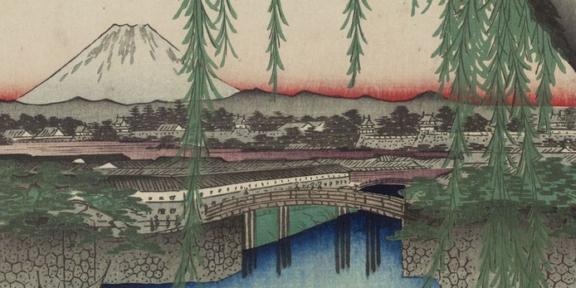 Le 100 vedute di luoghi celebri di Edo