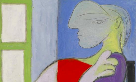 Pablo Picasso, Femme assise près d'une fenêtre (Marie-Thérèse) (1932)
