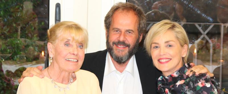 Betty Williams, Mario Cucinella e Sharon Stone