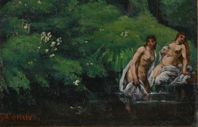 Un dipinto ritrovato di Gustave Courbet è in asta da Sotheby's