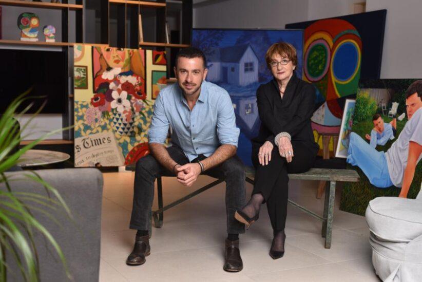 Steeve Nassima e Suzanne Landau Photo Meir Cohen