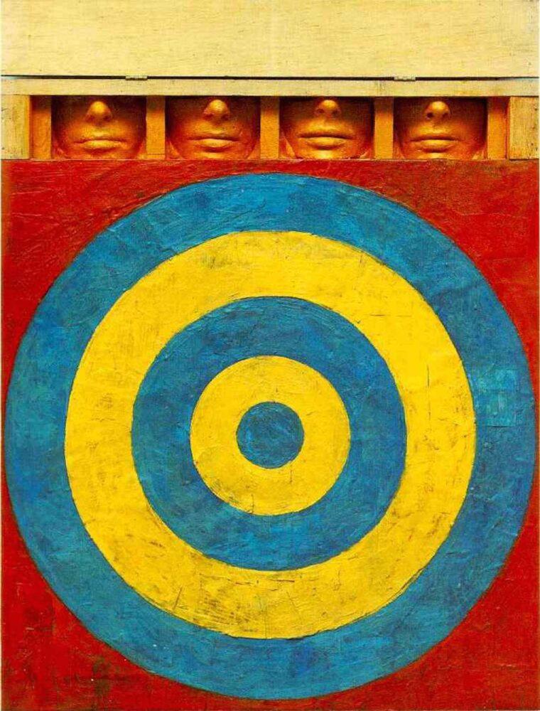 Un'opera di Jasper Johns