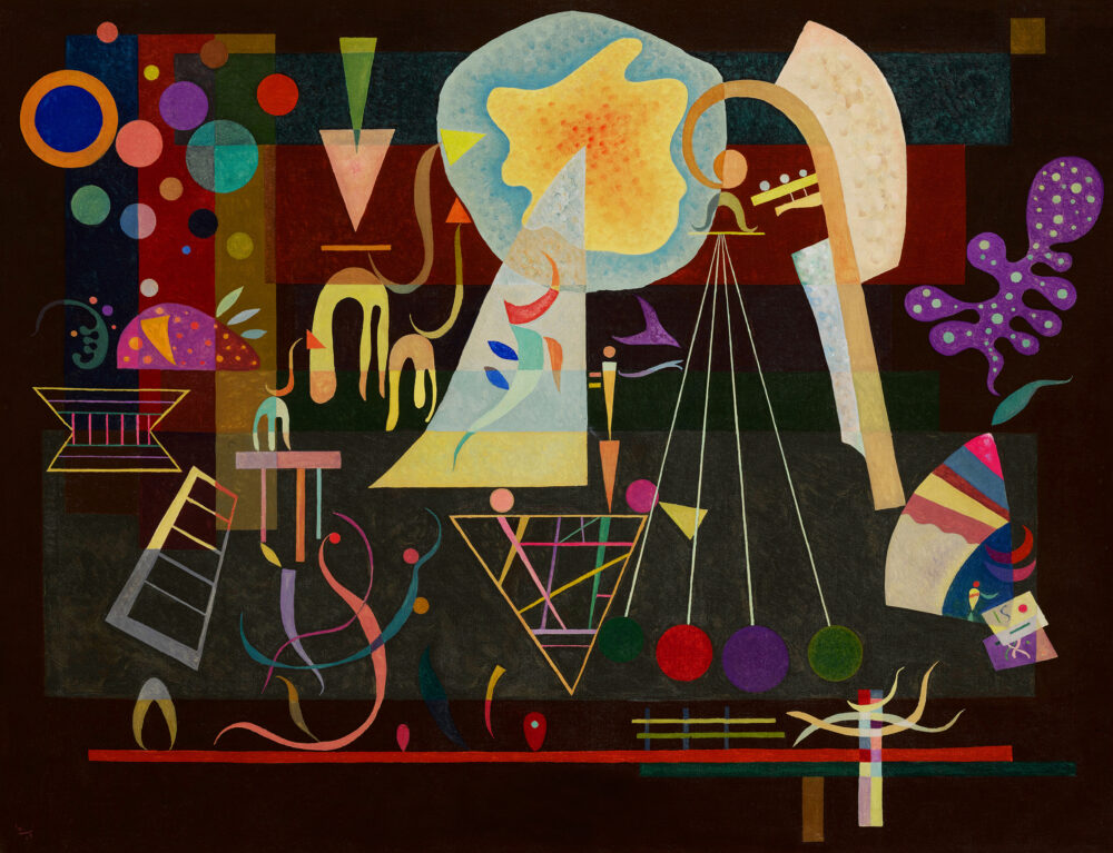 Wassily Kandinsky, Tensions calmées. Stima $25-35 milioni
