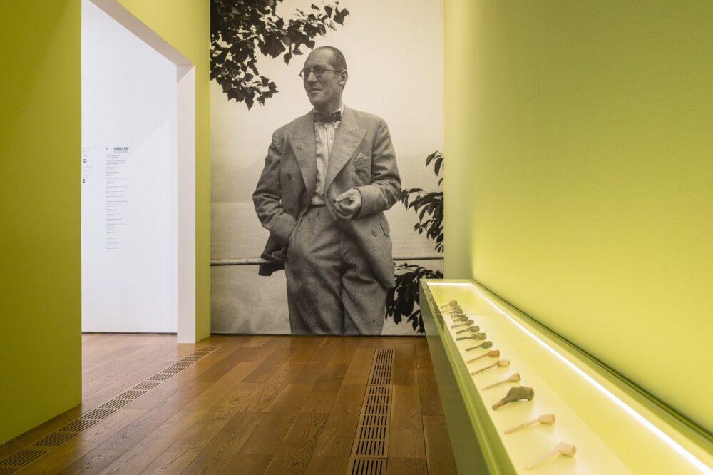 Veduta della mostra, Le Corbusier, Pinacoteca Agnelli