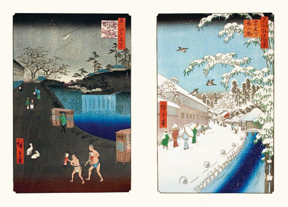 Hiroshige. 100 vedute di luoghi celebri di Edo