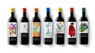 Etichette Edizione Limitata Arte 2020 realizzate  da Bruno Murialdo e Paolo Baraldi