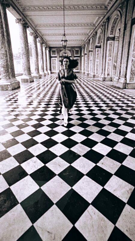 Per Vogue alla Reggia di Versailles, 1980