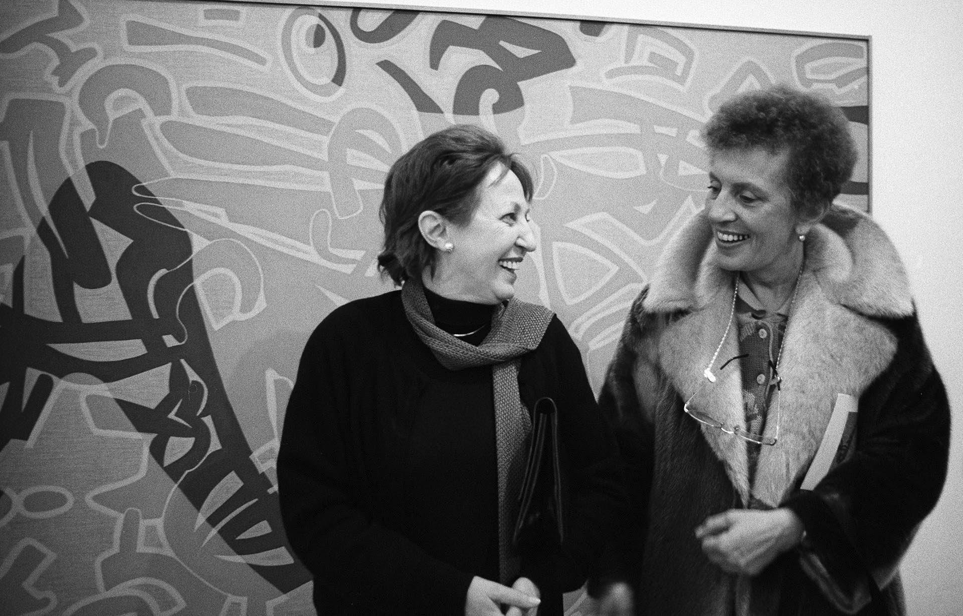 Tra segno e trasparenza. Carla Accardi e Dadamaino in scena da Tornabuoni Art Parigi