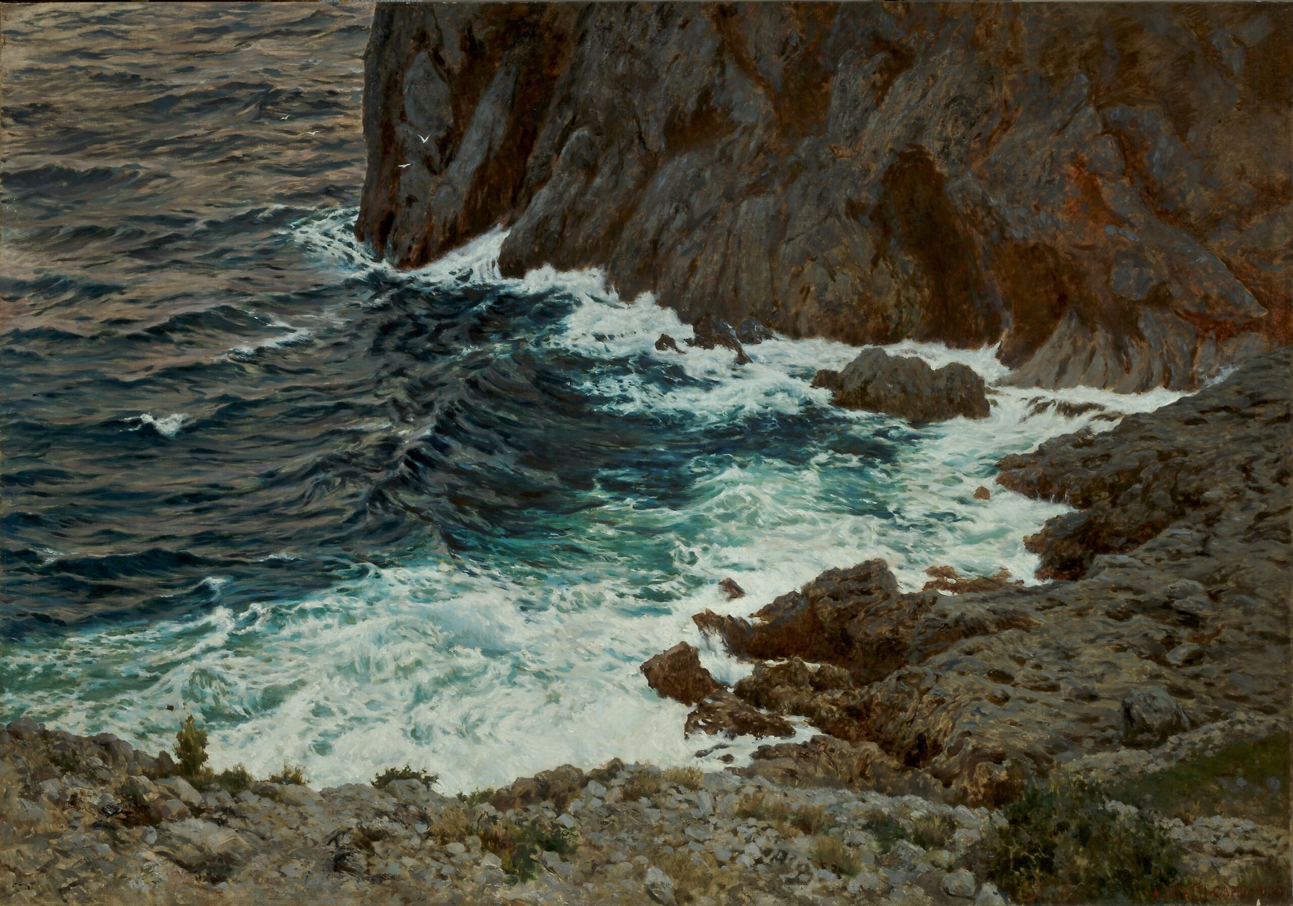 Dalle vedute liguri alla Costiera Amalfitana. Ultimo appuntamento estivo per la Casa d'Aste Santa Giulia