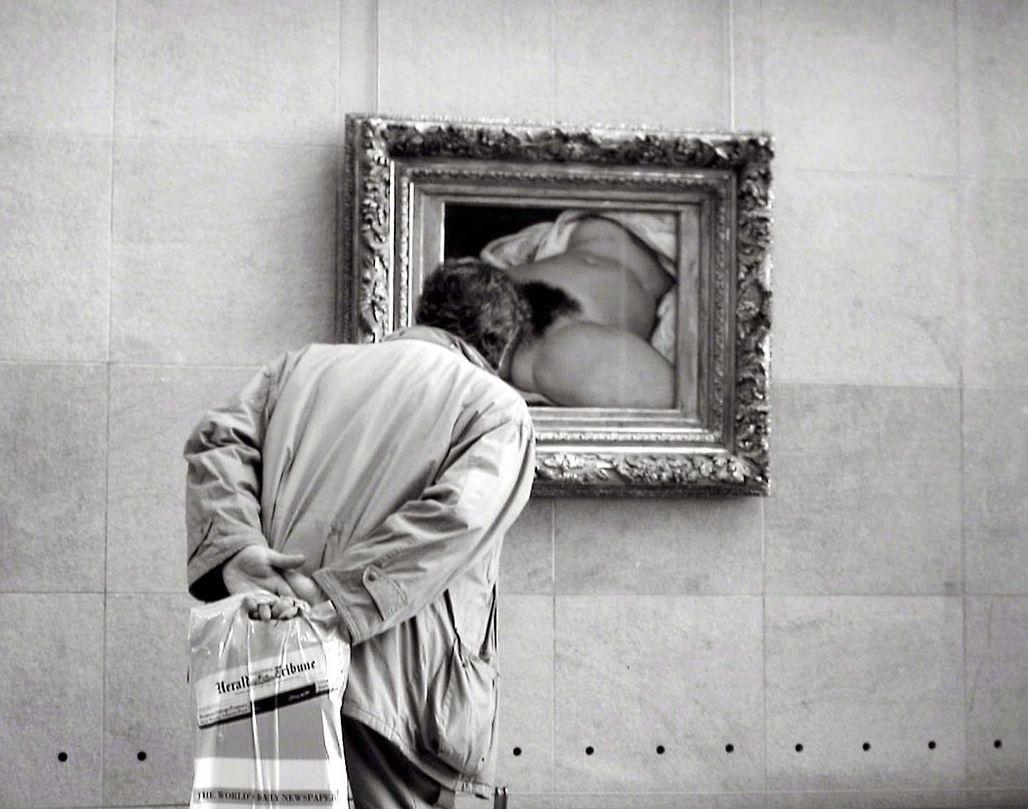 Si prega di non toccare: una rilettura sovversiva dell'origine del mondo di Courbet