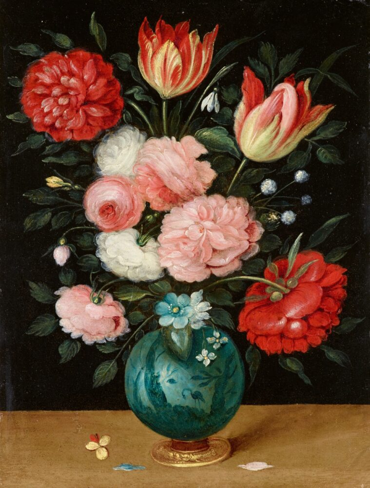 Jan Brueghel the Younger, Roses and Tulip