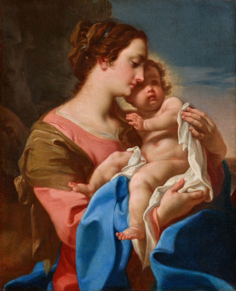 Corrado Giaquinto, Madonna col Bambino
