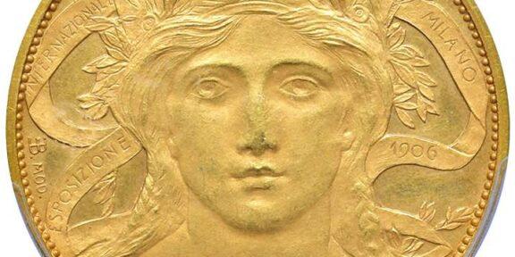 Buono Liberty del 1906, Fiera internazionale di Milano. E' stimato 25.000 euro.