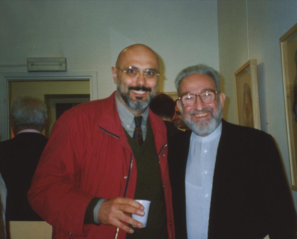 1999, Bruno Ceccobelli e Arturo Schwarz, Spazio Santabarbara Milano