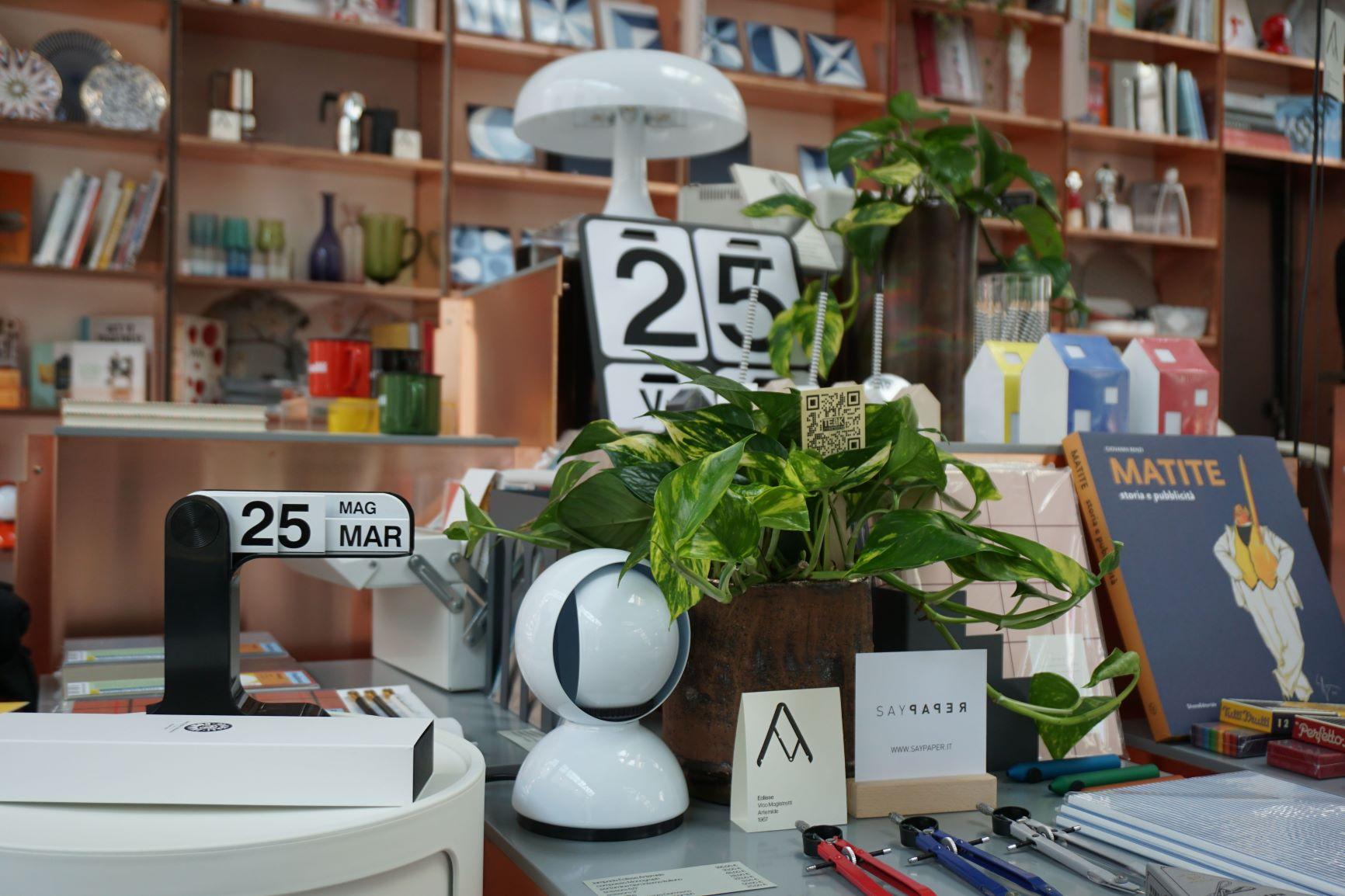 Bookshop d'autore: Electa ricama la libreria per il bellissimo ADI Design Museum di Milano