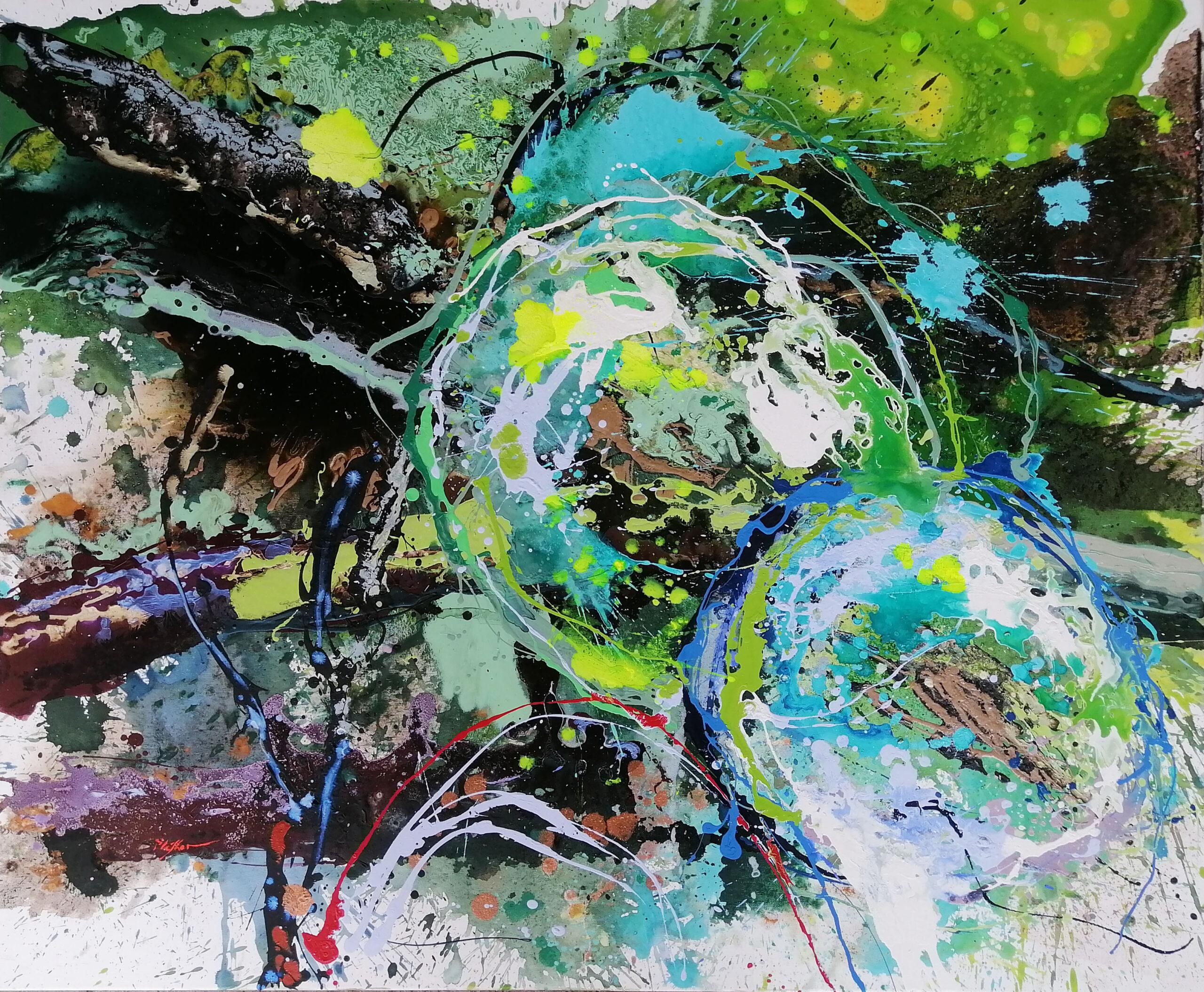 Bolle di sapone . Cristina Lefter in mostra a Milano