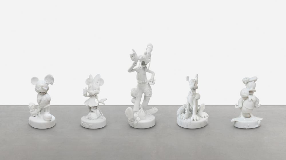 Damien Hirst, Five friends, 2018