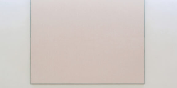 Ettore Spalletti Senza titolo , 1989 Impasto di colore su tavola Color impasto on board Cm 200 x 240