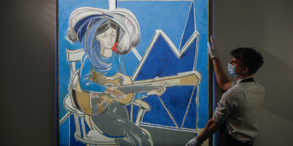 Françoise Gilot, Paloma à la Guitare (1965)